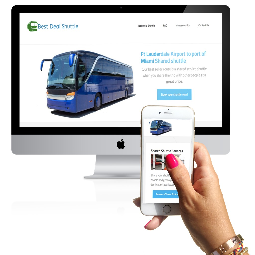 best deal shuttle-portafolio-responsive